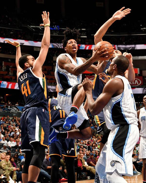 Nba Pro Basketball Poster featuring the photograph Elfrid Payton by Fernando Medina