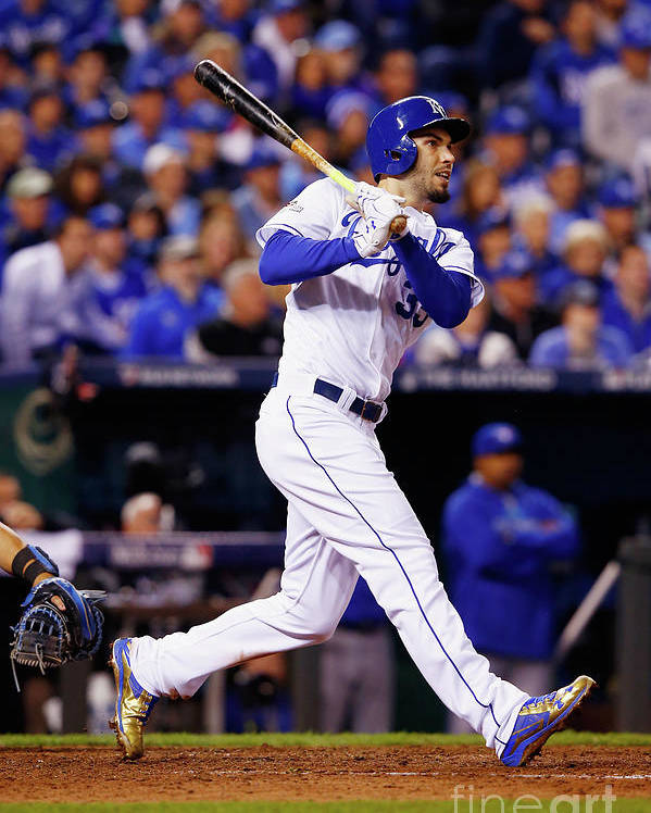 People Poster featuring the photograph Eric Hosmer by Jamie Squire