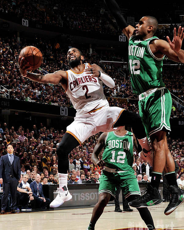 Playoffs Poster featuring the photograph Kyrie Irving by David Liam Kyle