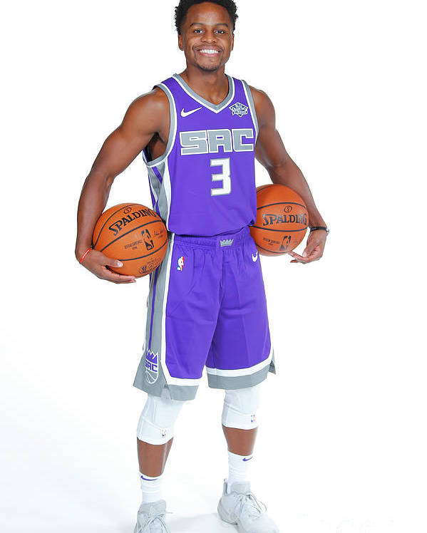 Media Day Poster featuring the photograph Yogi Ferrell by Rocky Widner