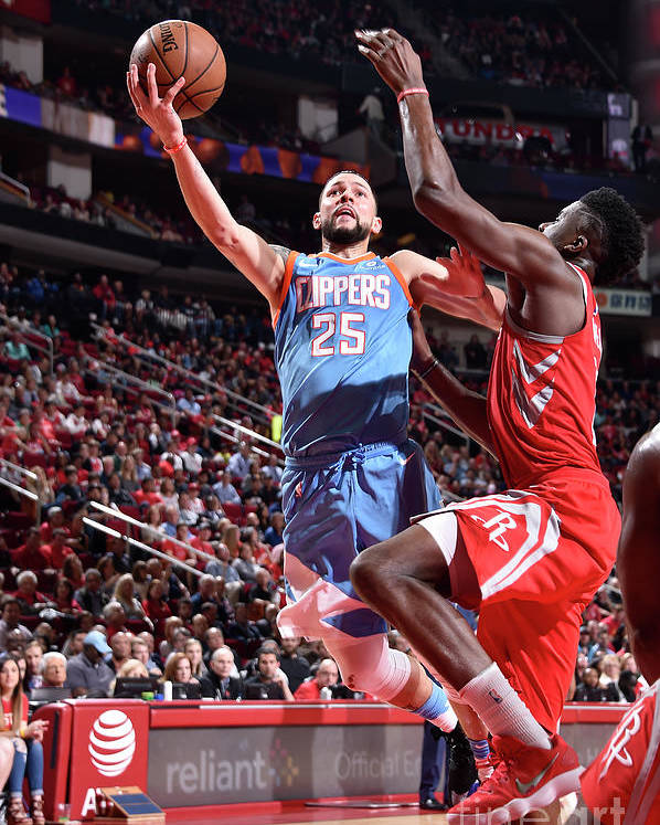Nba Pro Basketball Poster featuring the photograph Austin Rivers by Bill Baptist