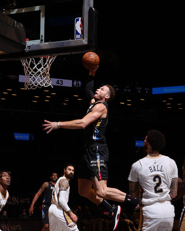 Nba Pro Basketball Poster featuring the photograph Blake Griffin by Nathaniel S. Butler