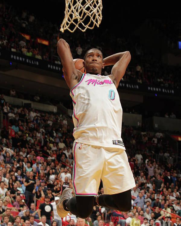 Nba Pro Basketball Poster featuring the photograph Josh Richardson by Oscar Baldizon