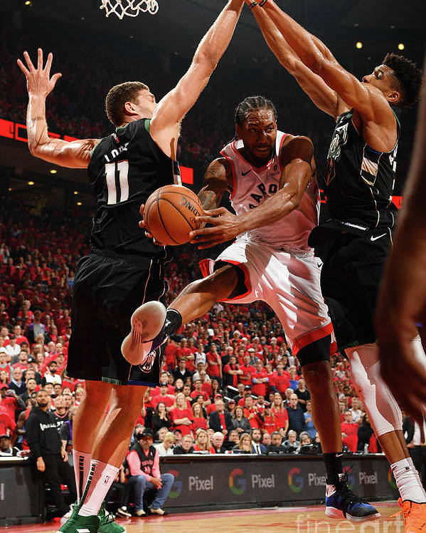 Nba Pro Basketball Poster featuring the photograph Kawhi Leonard by Ron Turenne
