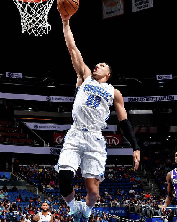 Nba Pro Basketball Poster featuring the photograph Aaron Gordon by Fernando Medina