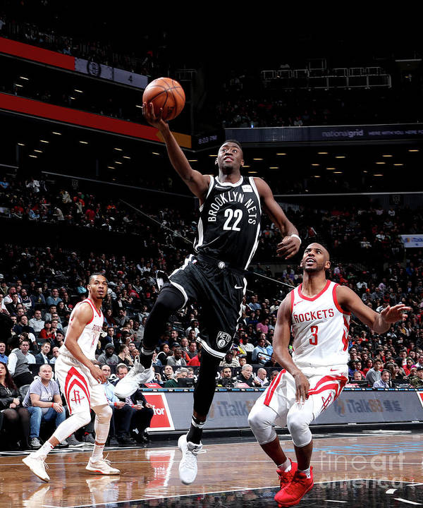 Nba Pro Basketball Poster featuring the photograph Caris Levert by Nathaniel S. Butler