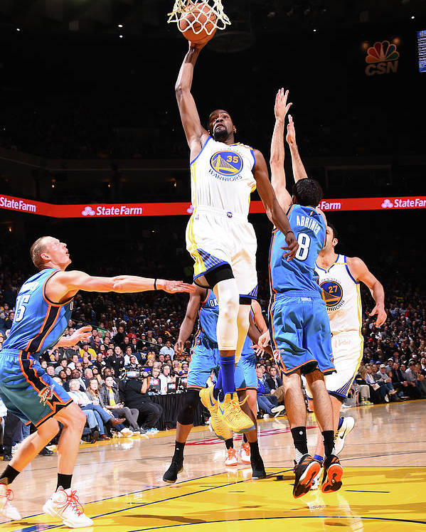 Nba Pro Basketball Poster featuring the photograph Kevin Durant by Andrew D. Bernstein