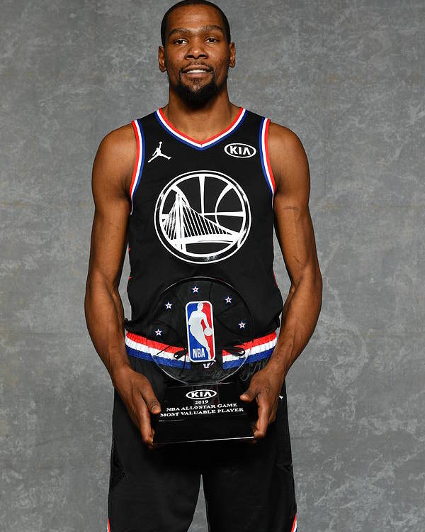 Nba Pro Basketball Poster featuring the photograph Kevin Durant by Jesse D. Garrabrant