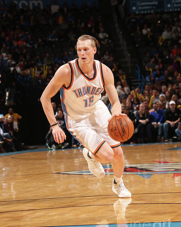 Nba Pro Basketball Poster featuring the photograph Kyle Singler by Layne Murdoch