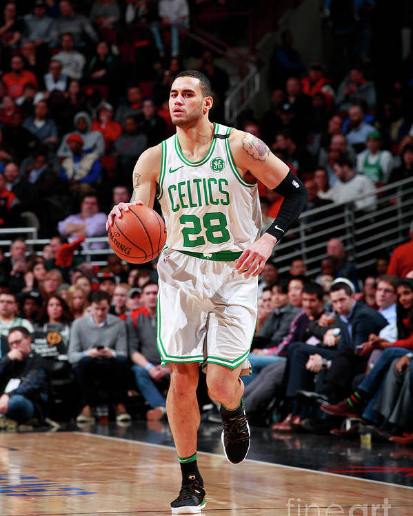 Nba Pro Basketball Poster featuring the photograph Abdel Nader by Jeff Haynes