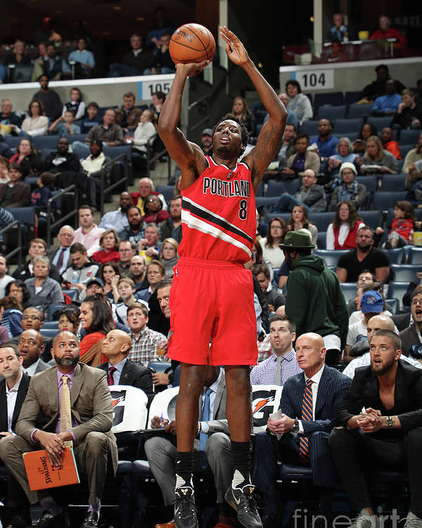 Nba Pro Basketball Poster featuring the photograph Al-farouq Aminu by Joe Murphy