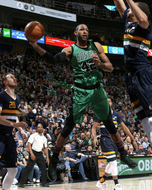 Nba Pro Basketball Poster featuring the photograph Al Horford by Melissa Majchrzak
