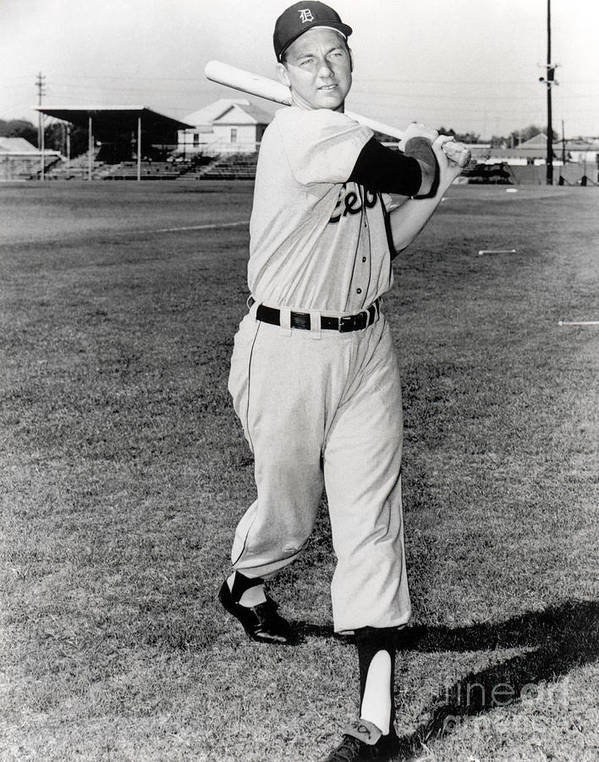 American League Baseball Poster featuring the photograph Al Kaline by National Baseball Hall Of Fame Library