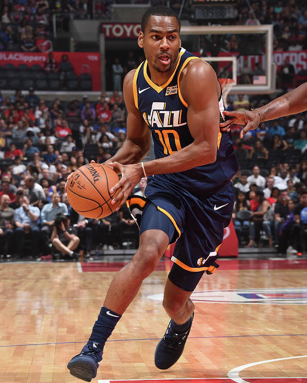 Nba Pro Basketball Poster featuring the photograph Alec Burks by Andrew D. Bernstein