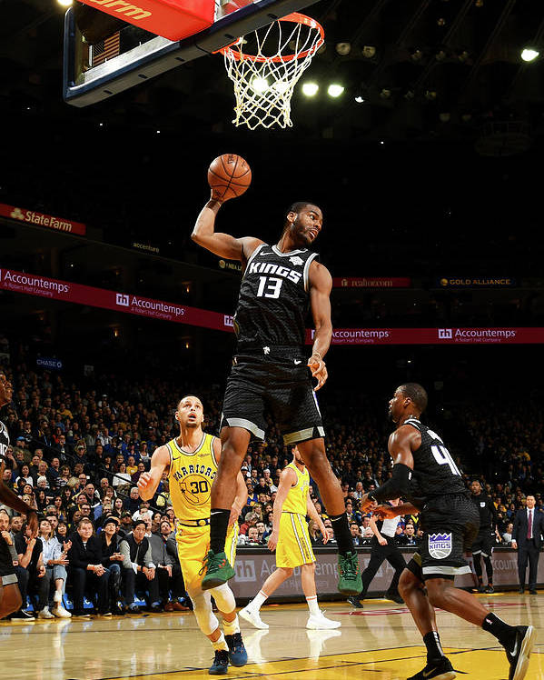 Nba Pro Basketball Poster featuring the photograph Alec Burks by Noah Graham