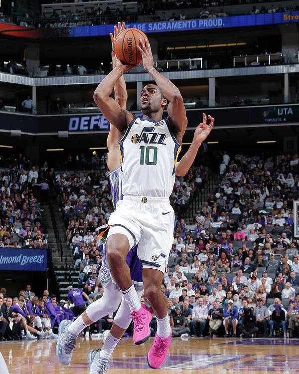 Nba Pro Basketball Poster featuring the photograph Alec Burks by Rocky Widner