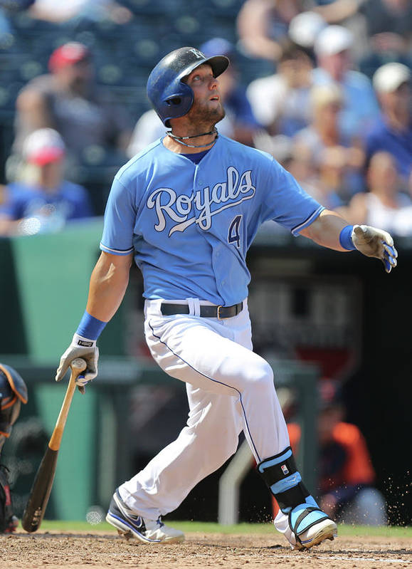 People Poster featuring the photograph Alex Gordon by Ed Zurga