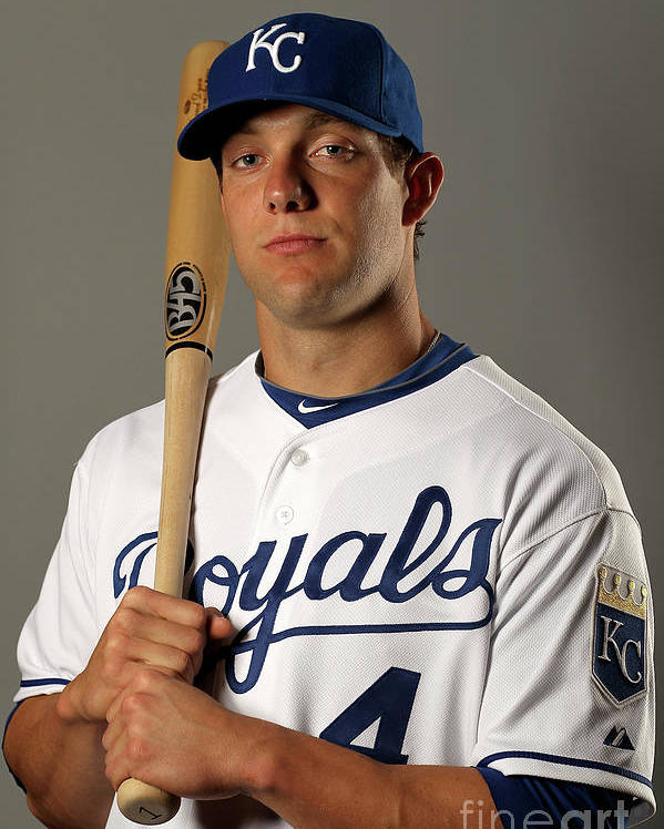 Media Day Poster featuring the photograph Alex Gordon by Ezra Shaw