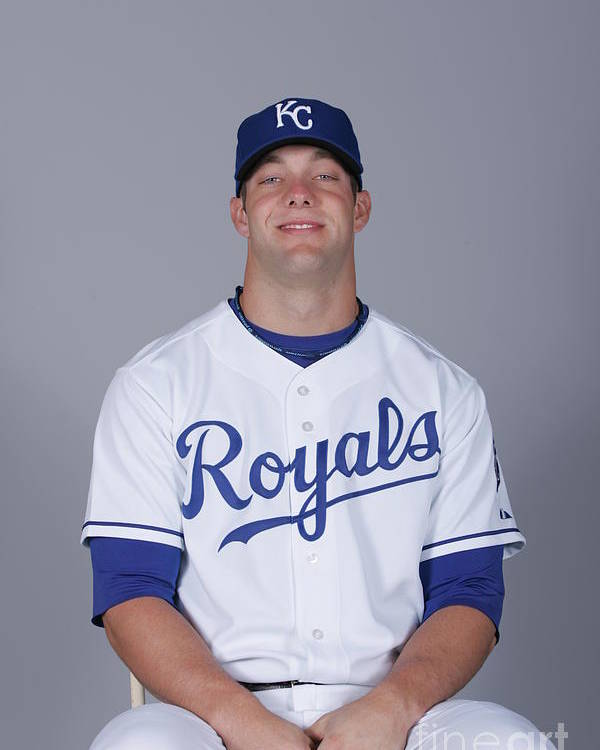 Media Day Poster featuring the photograph Alex Gordon by Rick Scuteri