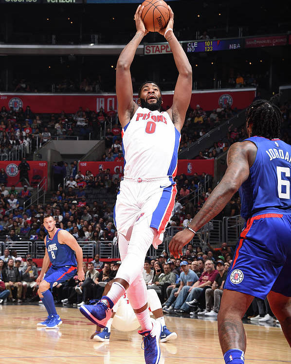 Nba Pro Basketball Poster featuring the photograph Andre Drummond by Andrew D. Bernstein