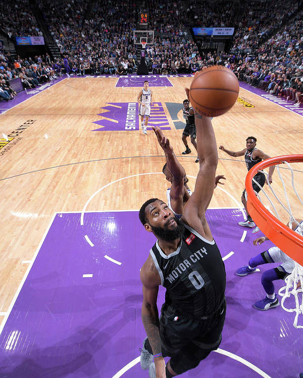 Nba Pro Basketball Poster featuring the photograph Andre Drummond by Rocky Widner
