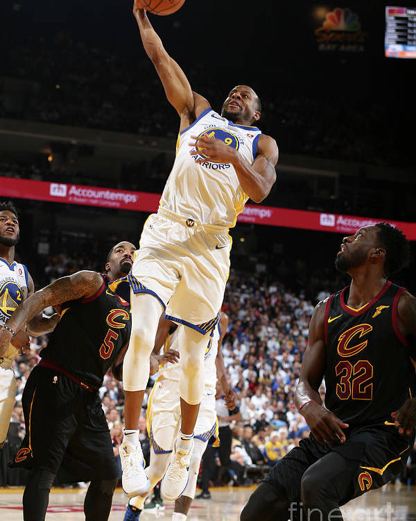 Nba Pro Basketball Poster featuring the photograph Andre Iguodala by David Sherman