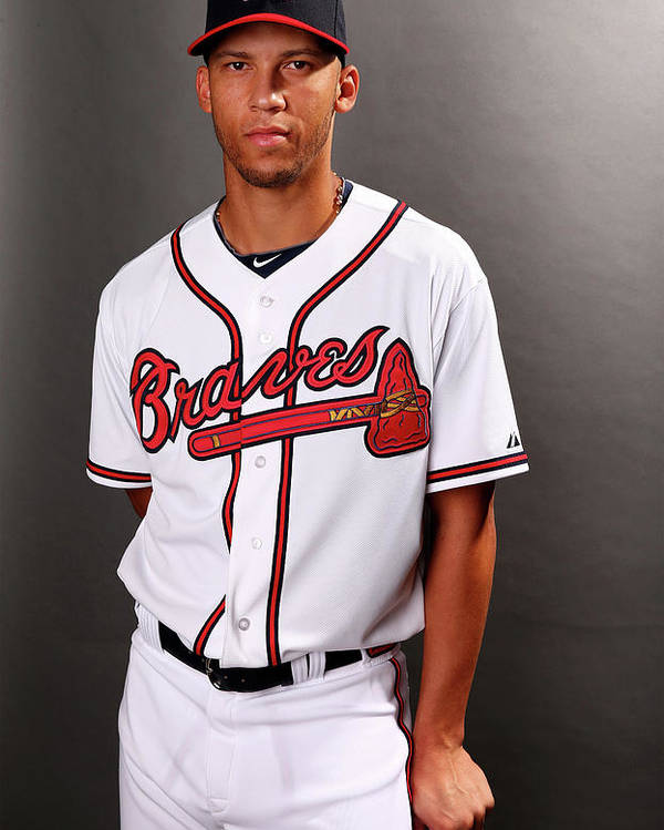 Media Day Poster featuring the photograph Andrelton Simmons by Elsa