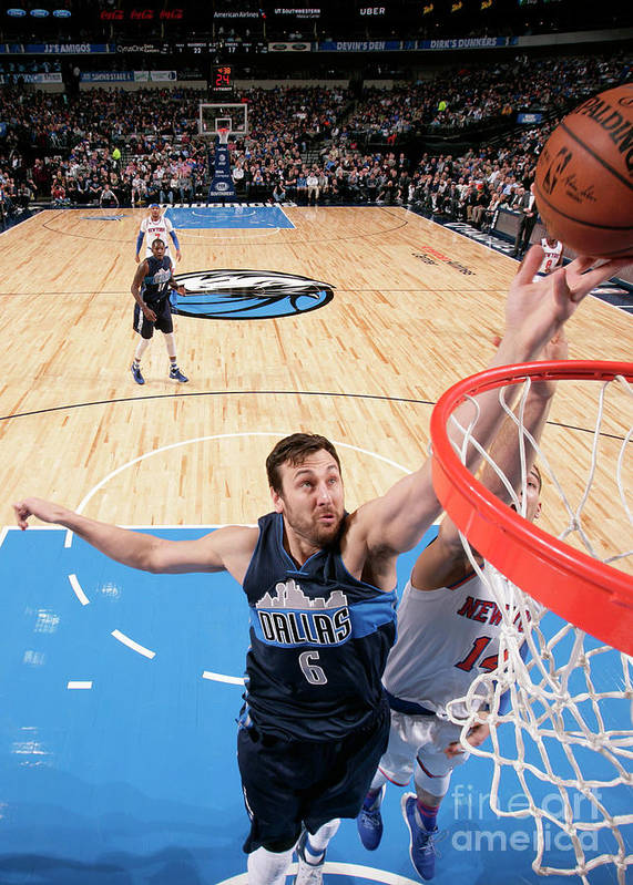 Nba Pro Basketball Poster featuring the photograph Andrew Bogut by Glenn James