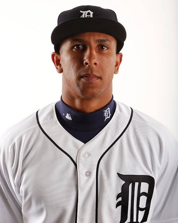 Media Day Poster featuring the photograph Anthony Gose by Brian Blanco