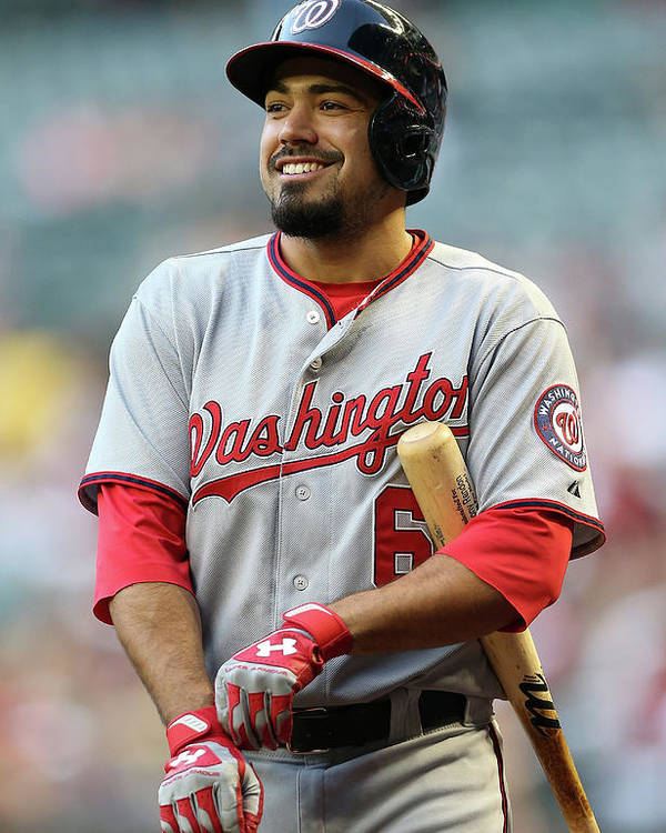 National League Baseball Poster featuring the photograph Anthony Rendon by Christian Petersen