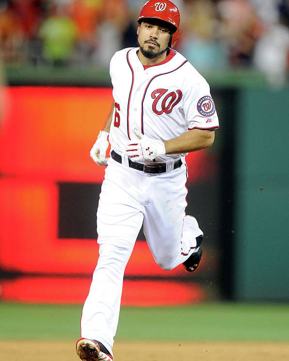 American League Baseball Poster featuring the photograph Anthony Rendon by Greg Fiume