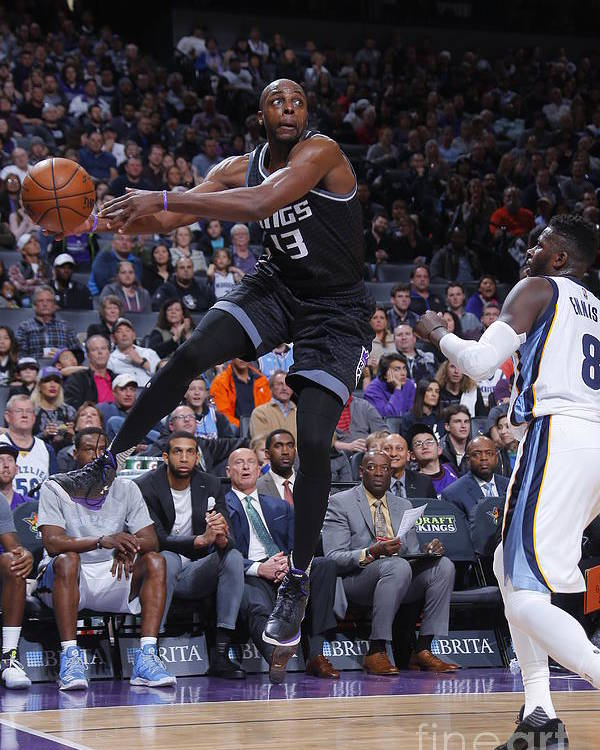 Nba Pro Basketball Poster featuring the photograph Anthony Tolliver by Rocky Widner