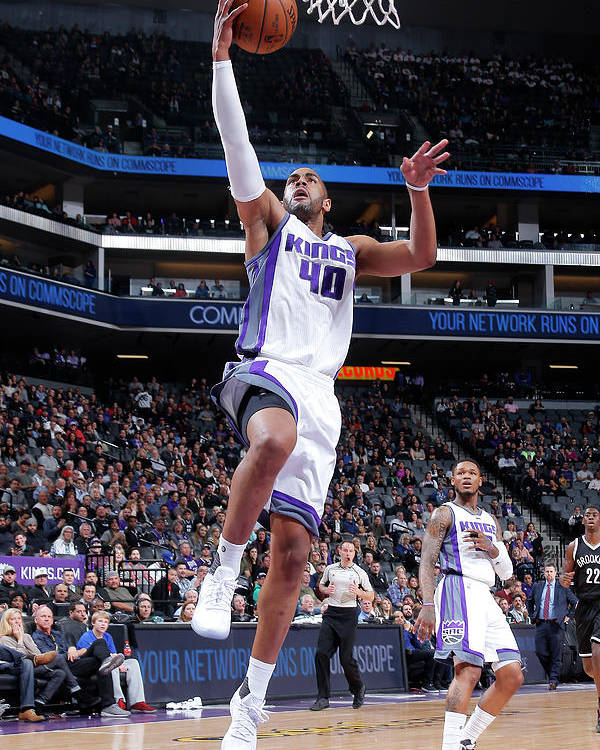 Nba Pro Basketball Poster featuring the photograph Arron Afflalo by Rocky Widner