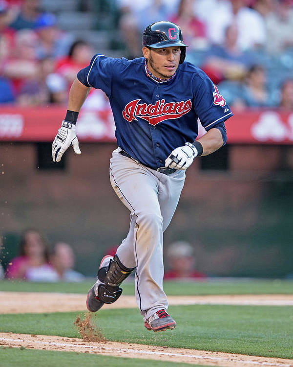 American League Baseball Poster featuring the photograph Asdrubal Cabrera by Paul Spinelli