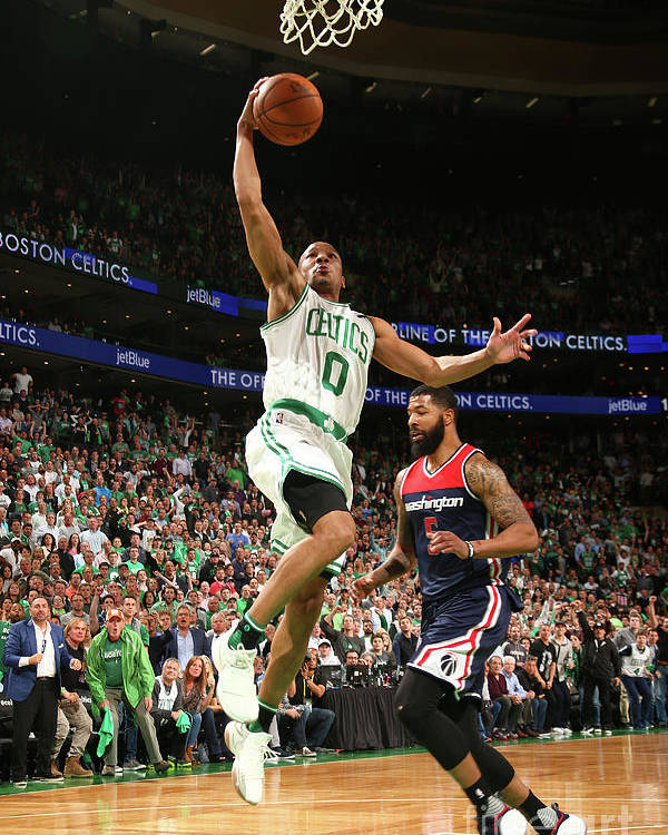 Playoffs Poster featuring the photograph Avery Bradley by Ned Dishman