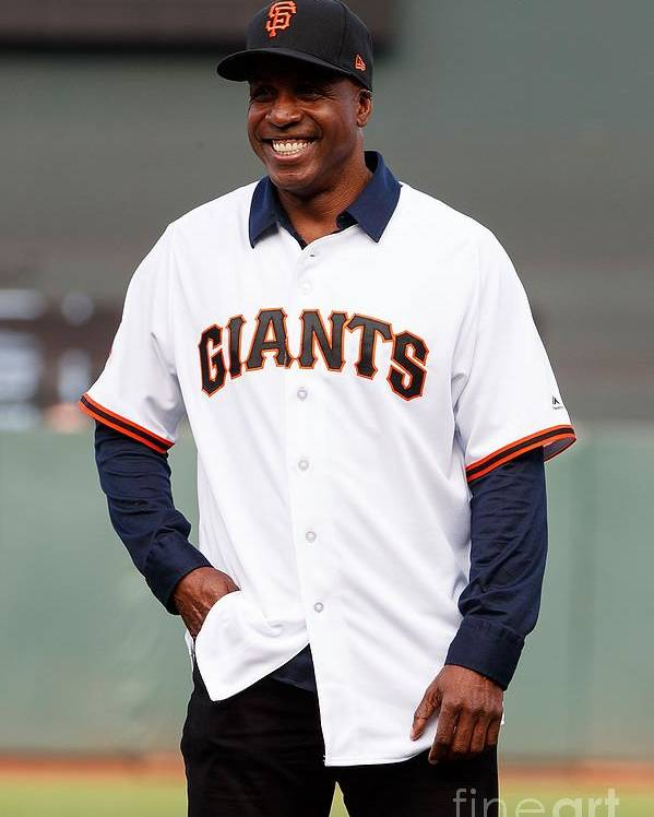 San Francisco Poster featuring the photograph Barry Bonds by Jason O. Watson