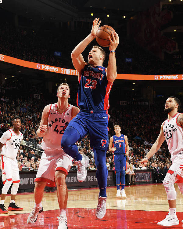 Nba Pro Basketball Poster featuring the photograph Blake Griffin by Ron Turenne