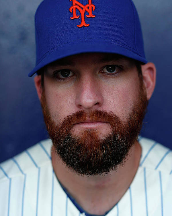 Media Day Poster featuring the photograph Bobby Parnell by Chris Trotman