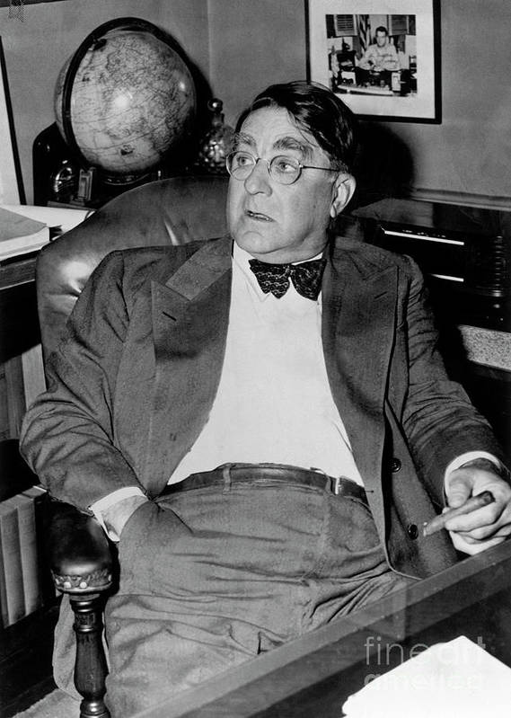 1910-1919 Poster featuring the photograph Branch Rickey by National Baseball Hall Of Fame Library