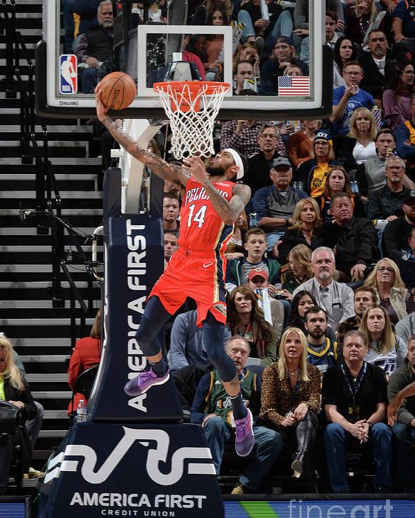 Nba Pro Basketball Poster featuring the photograph Brandon Ingram by Noah Graham