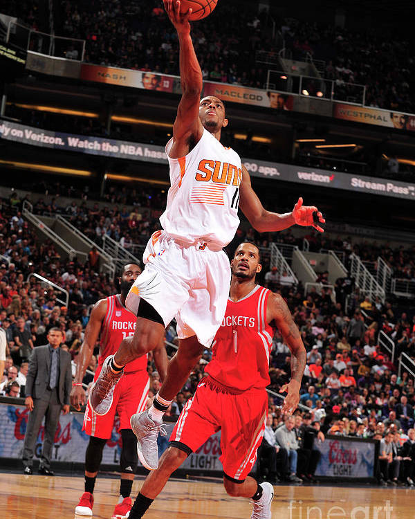 Nba Pro Basketball Poster featuring the photograph Brandon Knight by Barry Gossage