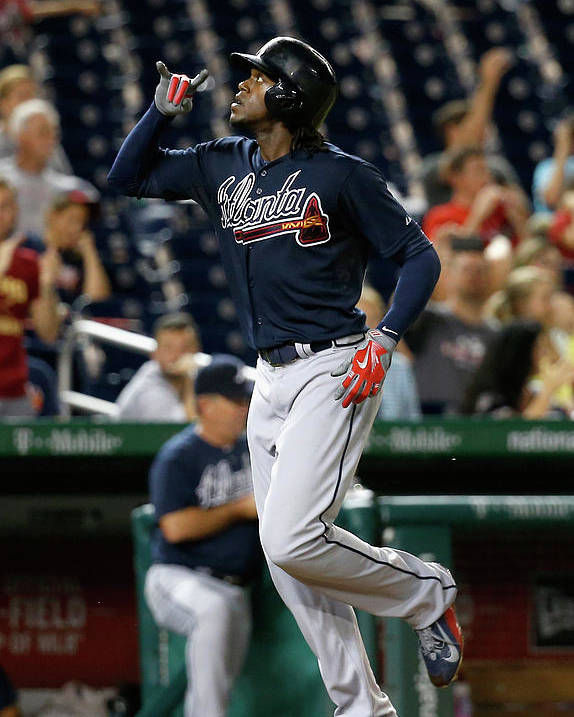 People Poster featuring the photograph Cameron Maybin by Rob Carr