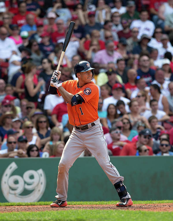 People Poster featuring the photograph Carlos Correa by Rich Gagnon