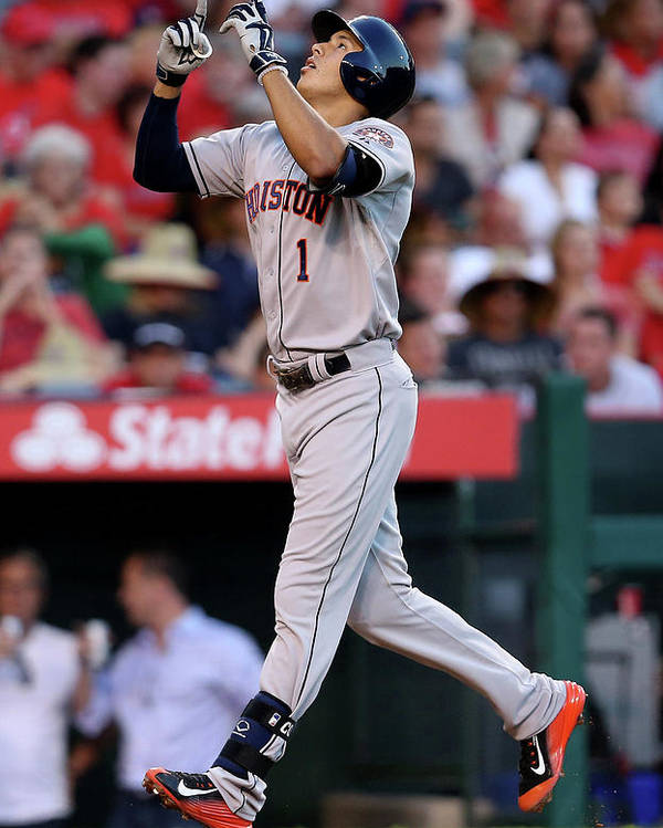 Second Inning Poster featuring the photograph Carlos Correa by Stephen Dunn