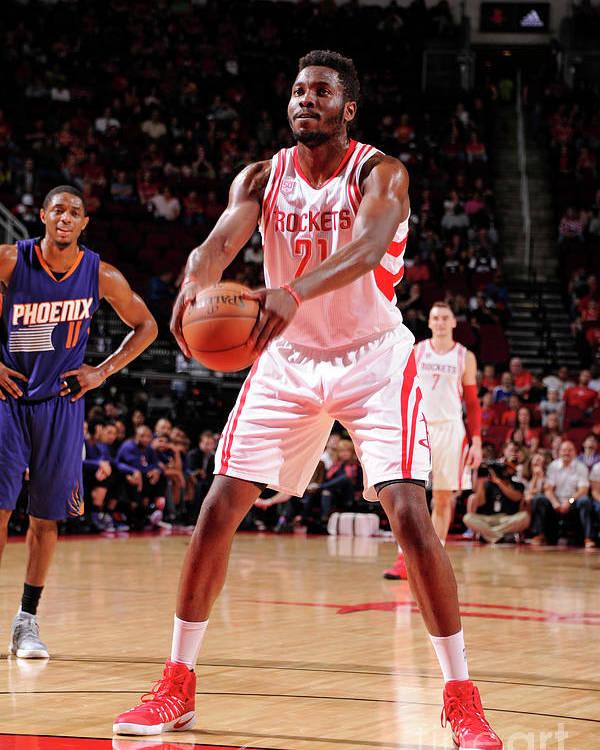 Nba Pro Basketball Poster featuring the photograph Chinanu Onuaku by Bill Baptist