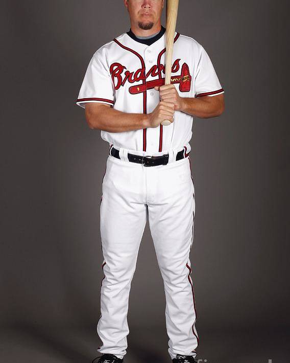 Media Day Poster featuring the photograph Chipper Jones by Chris Graythen