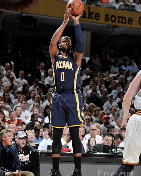 Playoffs Poster featuring the photograph C.j. Miles by David Liam Kyle
