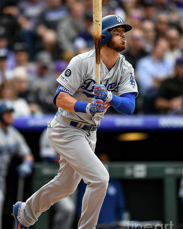 People Poster featuring the photograph Cody Bellinger by Dustin Bradford