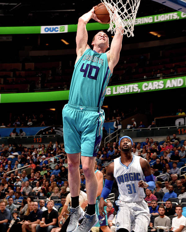 Nba Pro Basketball Poster featuring the photograph Cody Zeller by Gary Bassing