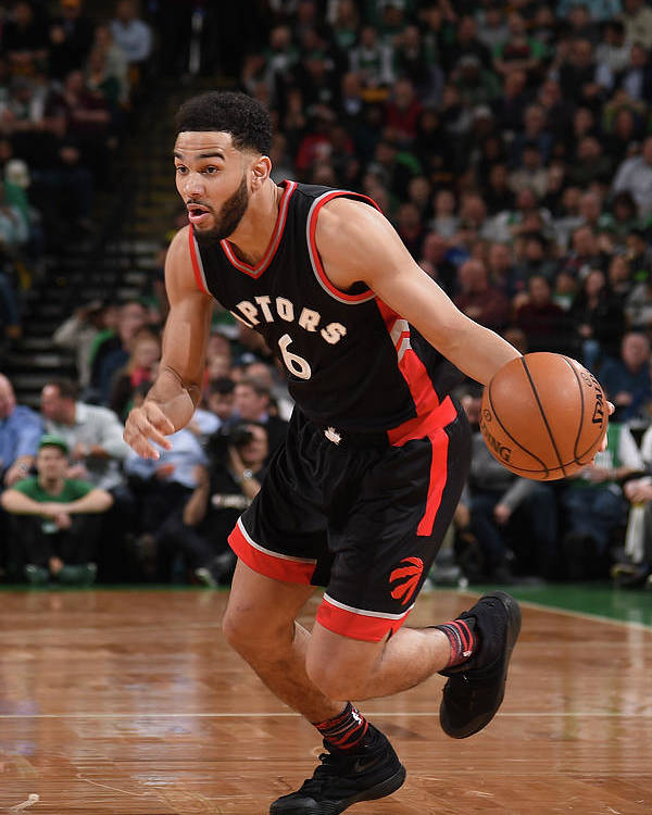 Nba Pro Basketball Poster featuring the photograph Cory Joseph by Brian Babineau